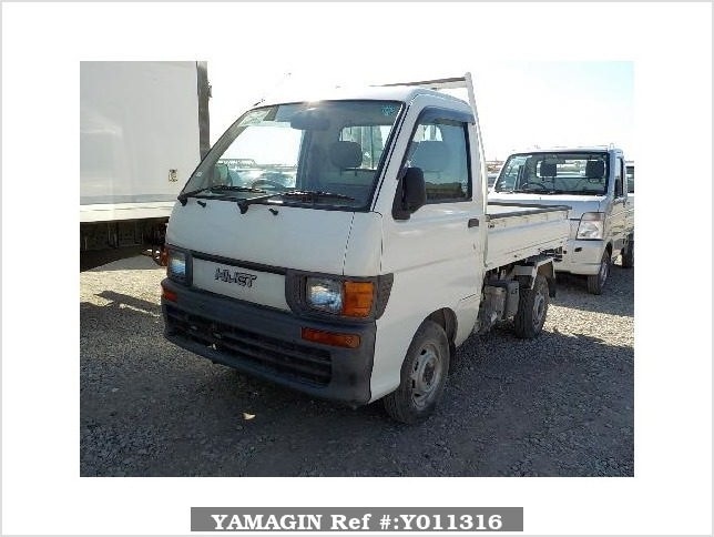 It is a picture of the white daihatsu hijet truck in 1996,Sub Photo 15 Stock No.Y011316