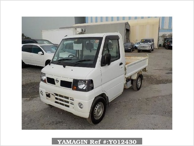 It is a picture of the white nissan clipper dump in 2007,Sub Photo 2 Stock No.Y012430