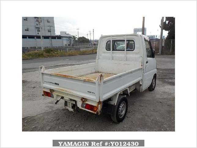 It is a picture of the white nissan clipper dump in 2007,Sub Photo 4 Stock No.Y012430