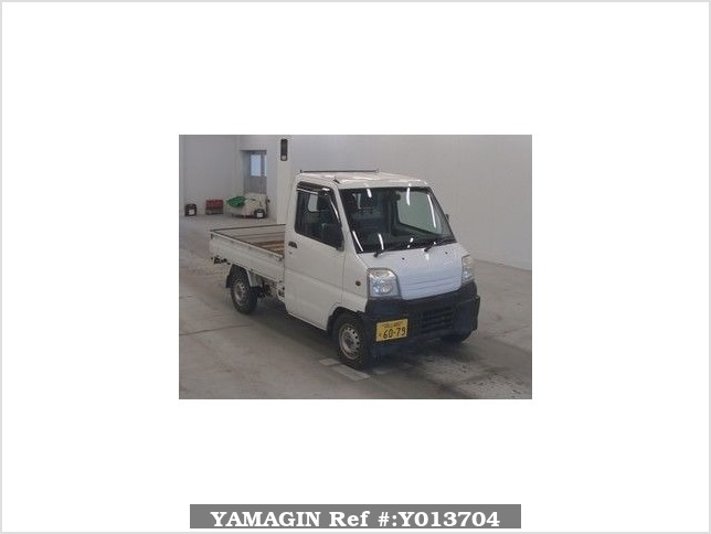 It is a picture of the white mitsubishi minicab in 1999,Sub Photo 0 Stock No.Y013704