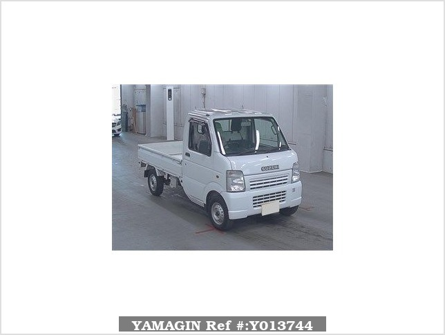 It is a picture of the white suzuki carry  in 2008,Sub Photo 0 Stock No.Y013744