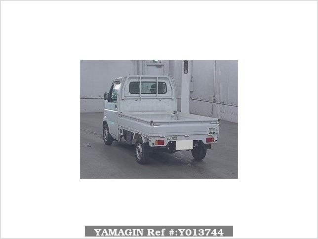 It is a picture of the white suzuki carry  in 2008,Sub Photo 1 Stock No.Y013744