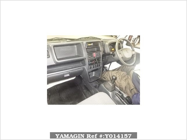 It is a picture of the white suzuki carry  in 2014,Sub Photo 2 Stock No.Y014157