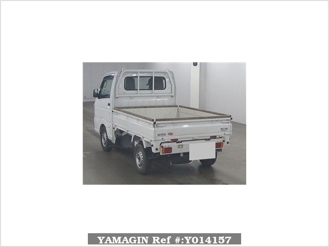 It is a picture of the white suzuki carry  in 2014,Sub Photo 1 Stock No.Y014157