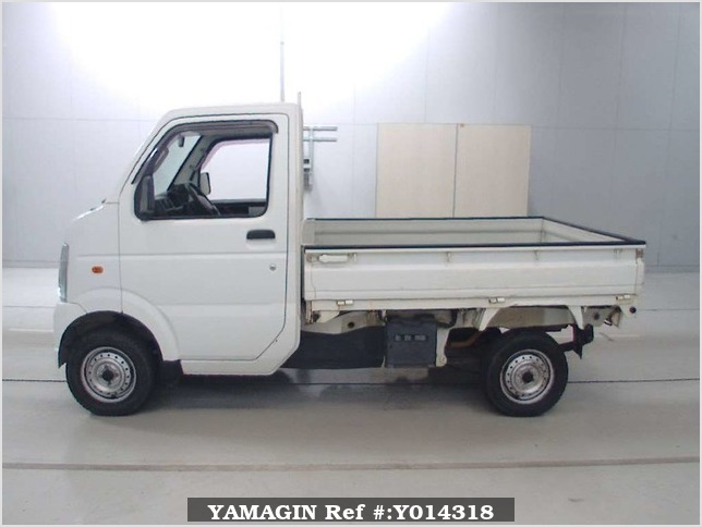 It is a picture of the white suzuki carry  in 2007,Sub Photo 3 Stock No.Y014318