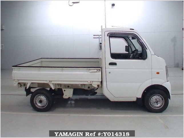 It is a picture of the white suzuki carry  in 2007,Sub Photo 2 Stock No.Y014318