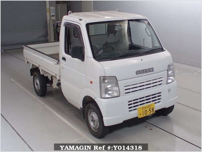 It is a picture of the white suzuki carry  in 2007,Sub Photo 0 Stock No.Y014318