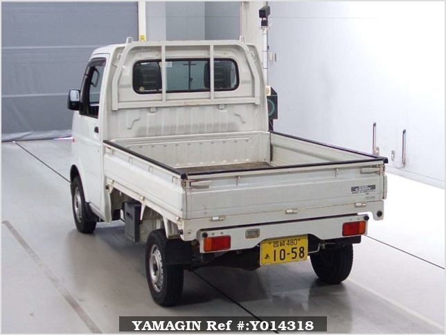 It is a picture of the white suzuki carry  in 2007,Sub Photo 1 Stock No.Y014318