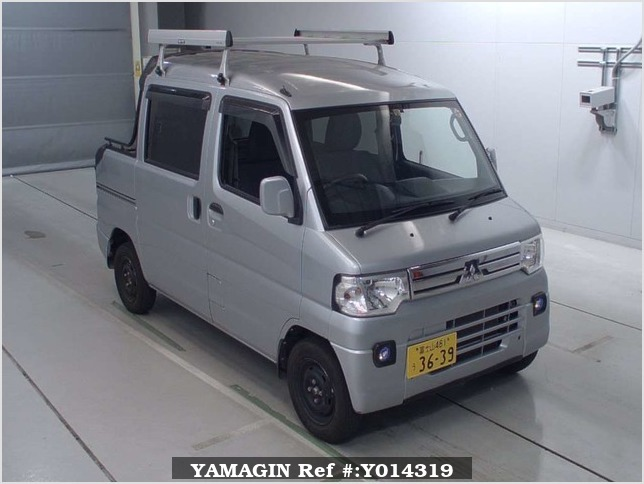 It is a picture of the silver mitsubishi minicab deck van in 2013,Sub Photo 10 Stock No.Y014319