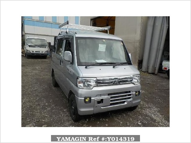 It is a picture of the silver mitsubishi minicab deck van in 2013,Sub Photo 9 Stock No.Y014319