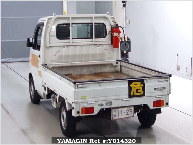 It is a picture of the white suzuki carry  in 2003,Sub Photo 1 Stock No.Y014320