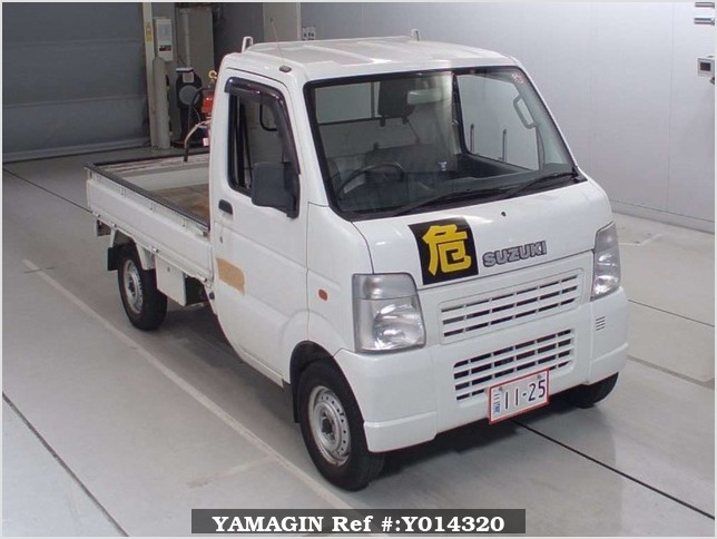 It is a picture of the white suzuki carry  in 2003,Sub Photo 0 Stock No.Y014320