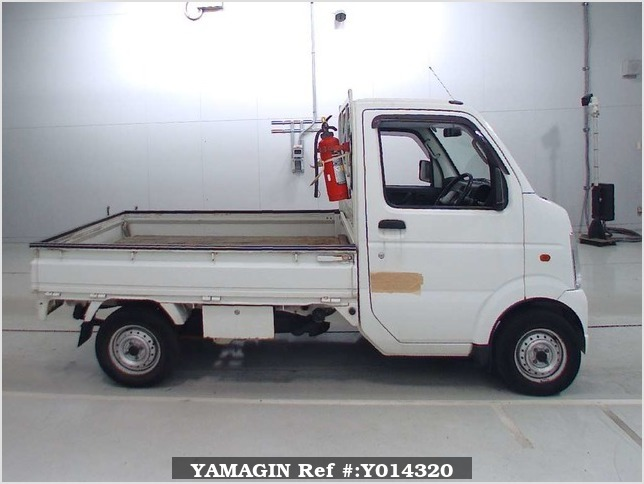 It is a picture of the white suzuki carry  in 2003,Sub Photo 2 Stock No.Y014320