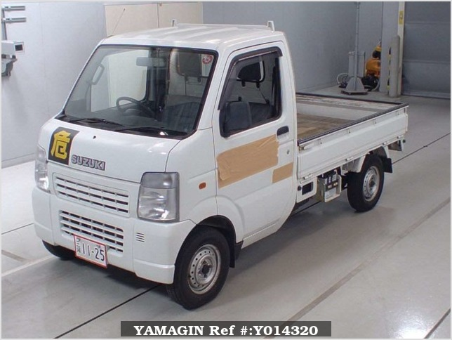 It is a picture of the white suzuki carry  in 2003,Sub Photo 4 Stock No.Y014320