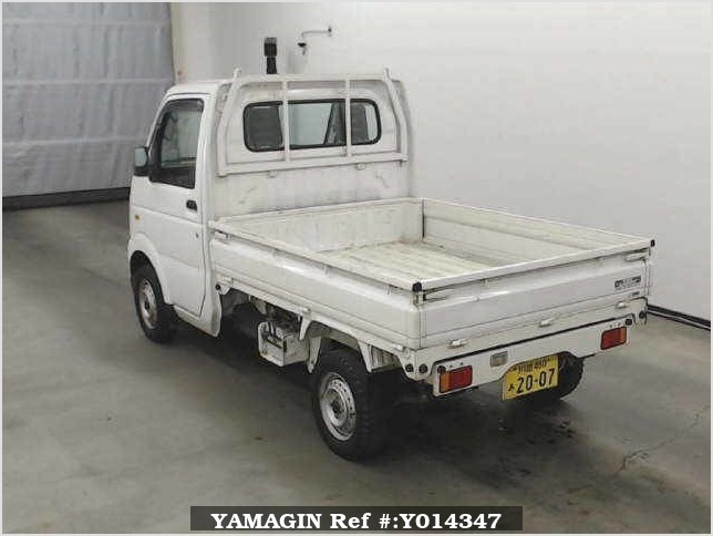 It is a picture of the white suzuki carry  in 2007,Sub Photo 1 Stock No.Y014347