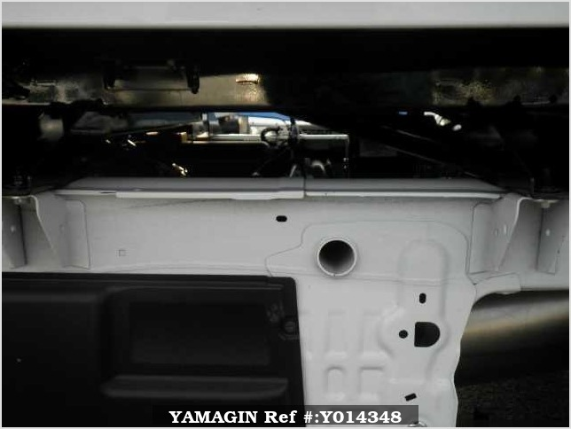 It is a picture of the white suzuki carry  in 2017,Sub Photo 5 Stock No.Y014348