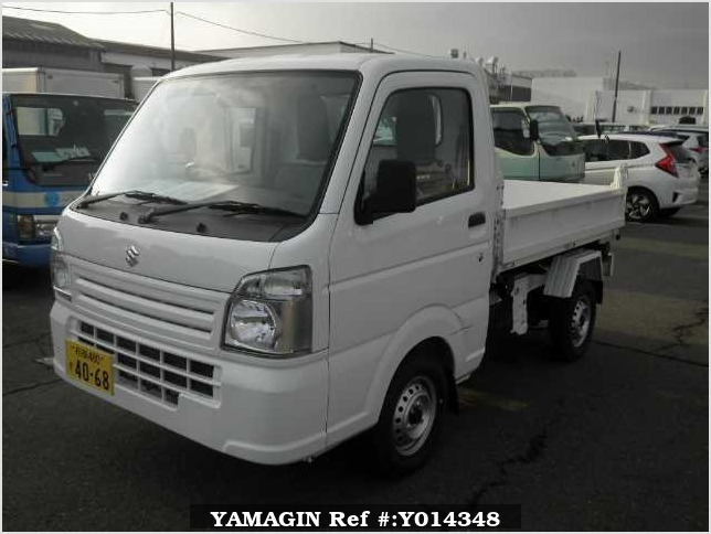 It is a picture of the white suzuki carry  in 2017,Sub Photo 0 Stock No.Y014348
