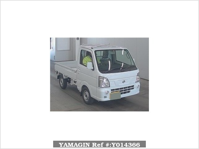 It is a picture of the white nissan nt100 clipper in 2018,Sub Photo 0 Stock No.Y014366
