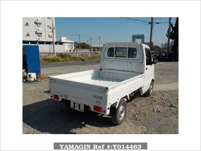 It is a picture of the white suzuki carry  truck in 2002,Sub Photo 2 Stock No.Y014463
