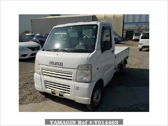 It is a picture of the white suzuki carry  truck in 2002,Sub Photo 1 Stock No.Y014463