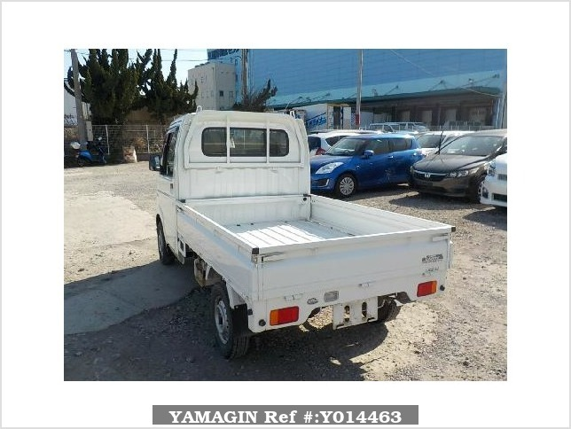 It is a picture of the white suzuki carry  truck in 2002,Sub Photo 3 Stock No.Y014463
