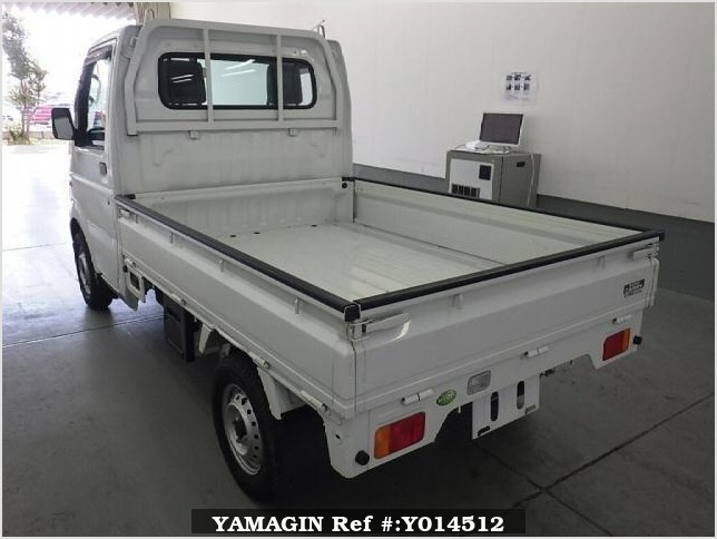 It is a picture of the white suzuki carry  in 2008,Sub Photo 4 Stock No.Y014512