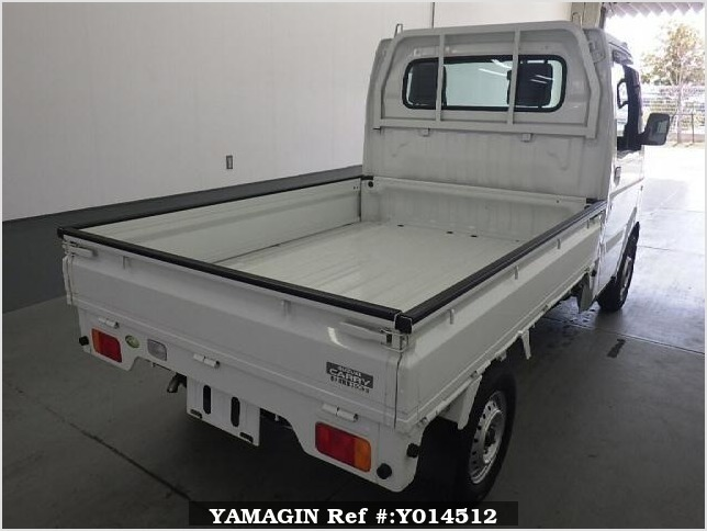 It is a picture of the white suzuki carry  in 2008,Sub Photo 1 Stock No.Y014512
