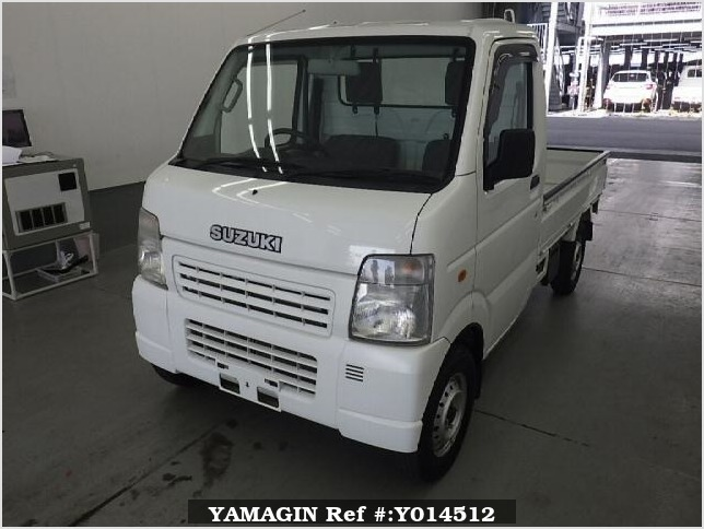 It is a picture of the white suzuki carry  in 2008,Sub Photo 3 Stock No.Y014512