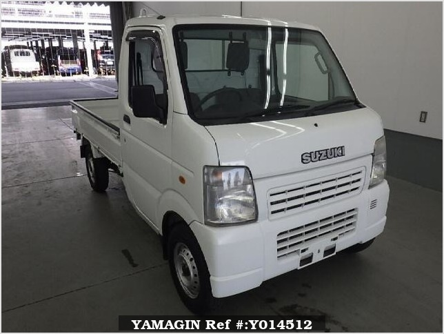 It is a picture of the white suzuki carry  in 2008,Sub Photo 0 Stock No.Y014512
