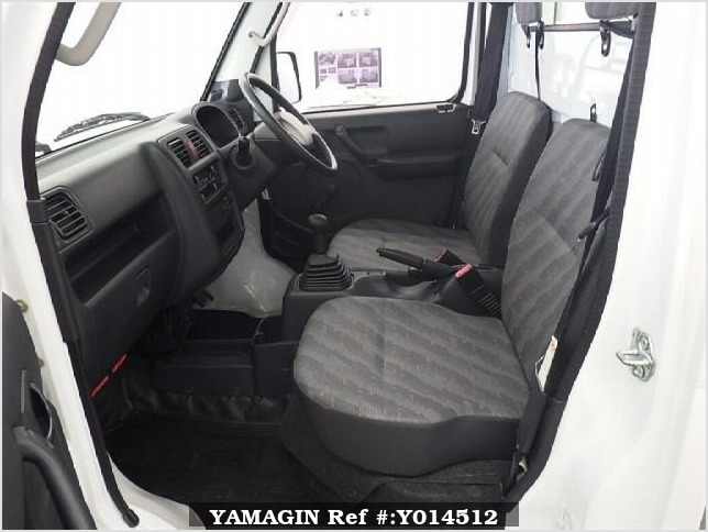 It is a picture of the white suzuki carry  in 2008,Sub Photo 6 Stock No.Y014512