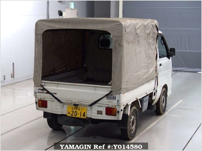 It is a picture of the white daihatsu hijet  in 2000,Sub Photo 5 Stock No.Y014580