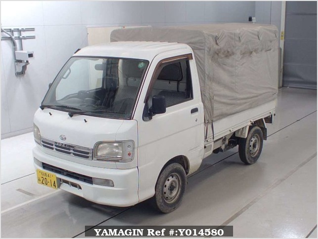 It is a picture of the white daihatsu hijet  in 2000,Sub Photo 4 Stock No.Y014580