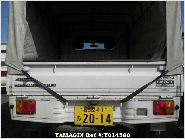 It is a picture of the white daihatsu hijet  in 2000,Sub Photo 8 Stock No.Y014580