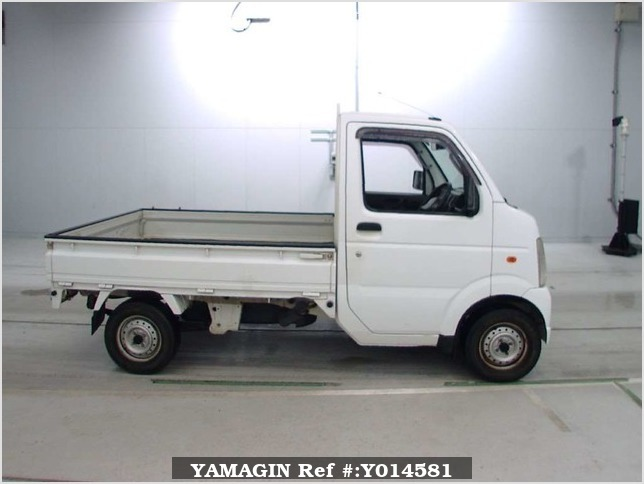 It is a picture of the white suzuki carry  in 2006,Sub Photo 2 Stock No.Y014581