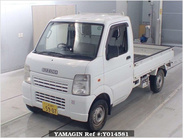 It is a picture of the white suzuki carry  in 2006,Sub Photo 4 Stock No.Y014581
