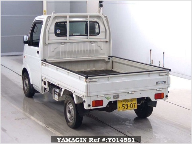 It is a picture of the white suzuki carry  in 2006,Sub Photo 1 Stock No.Y014581