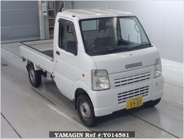 It is a picture of the white suzuki carry  in 2006,Sub Photo 0 Stock No.Y014581
