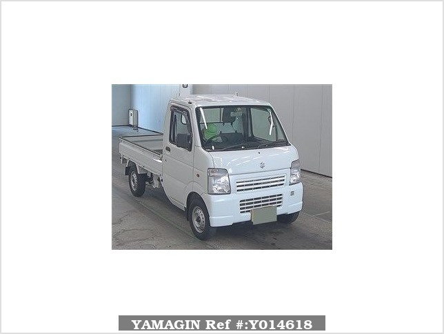 It is a picture of the white suzuki carry  in 2010,Sub Photo 0 Stock No.Y014618