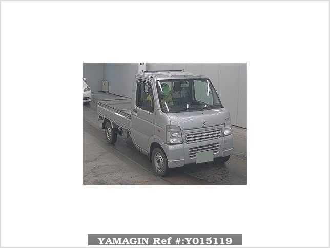 It is a picture of the silver suzuki carry  truck in 2010,Sub Photo 0 Stock No.Y015119