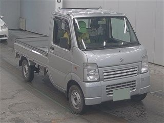 It is a picture of the silver suzuki carry  truck in 2010,First Photo Stock No.Y015119