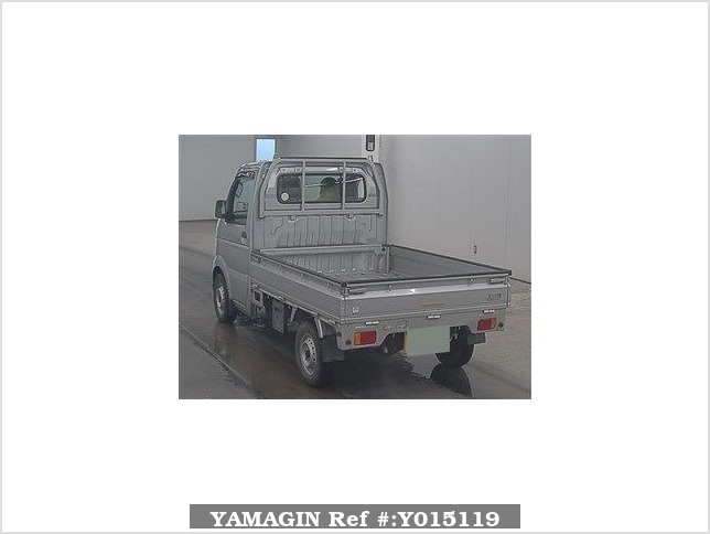 It is a picture of the silver suzuki carry  truck in 2010,Sub Photo 1 Stock No.Y015119