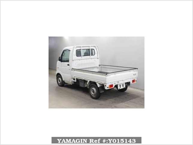 It is a picture of the white suzuki carry truck in 2011,Sub Photo 1 Stock No.Y015143