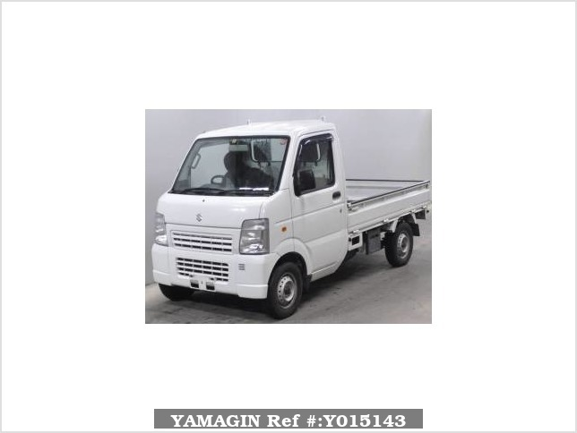 It is a picture of the white suzuki carry truck in 2011,Sub Photo 0 Stock No.Y015143