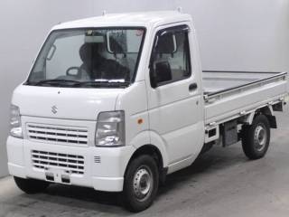 It is a picture of the white suzuki carry truck in 2011,First Photo Stock No.Y015143