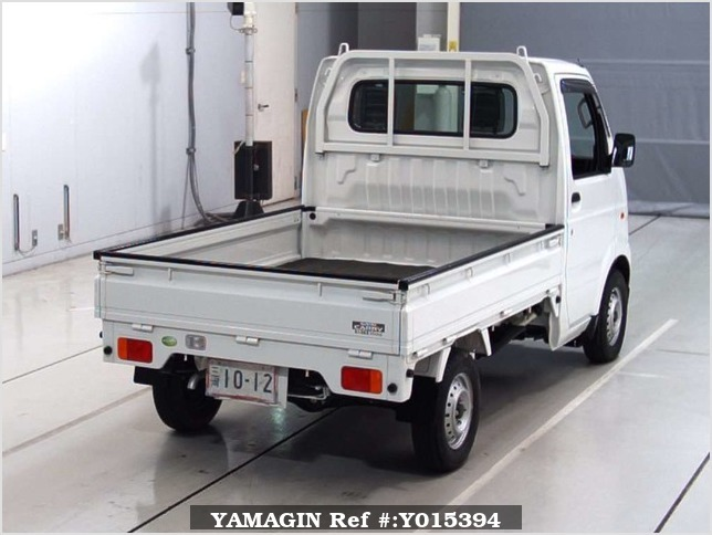 It is a picture of the white suzuki carry truck in 2010,Sub Photo 5 Stock No.Y015394