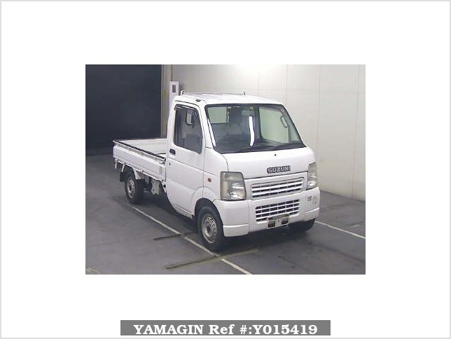 It is a picture of the white suzuki carry  in 2006,Sub Photo 0 Stock No.Y015419