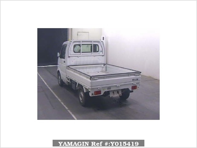 It is a picture of the white suzuki carry  in 2006,Sub Photo 1 Stock No.Y015419