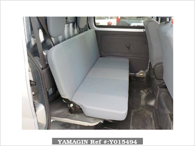 It is a picture of the silver daihatsu hijet deck van in 2013,Sub Photo 7 Stock No.Y015494