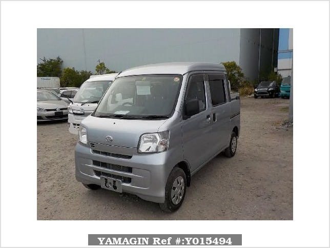 It is a picture of the silver daihatsu hijet deck van in 2013,Sub Photo 1 Stock No.Y015494