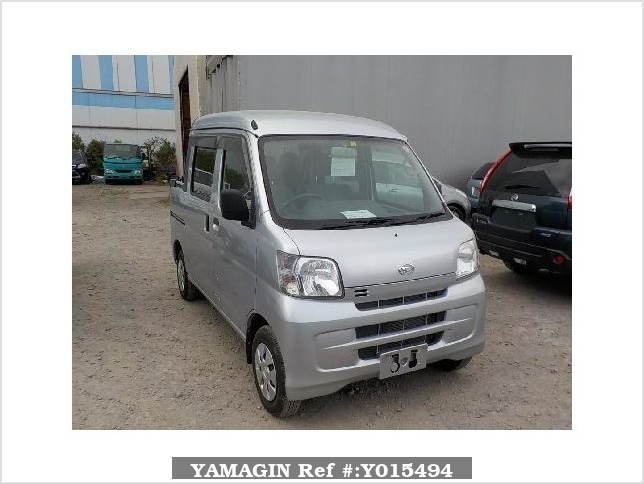 It is a picture of the silver daihatsu hijet deck van in 2013,Sub Photo 0 Stock No.Y015494